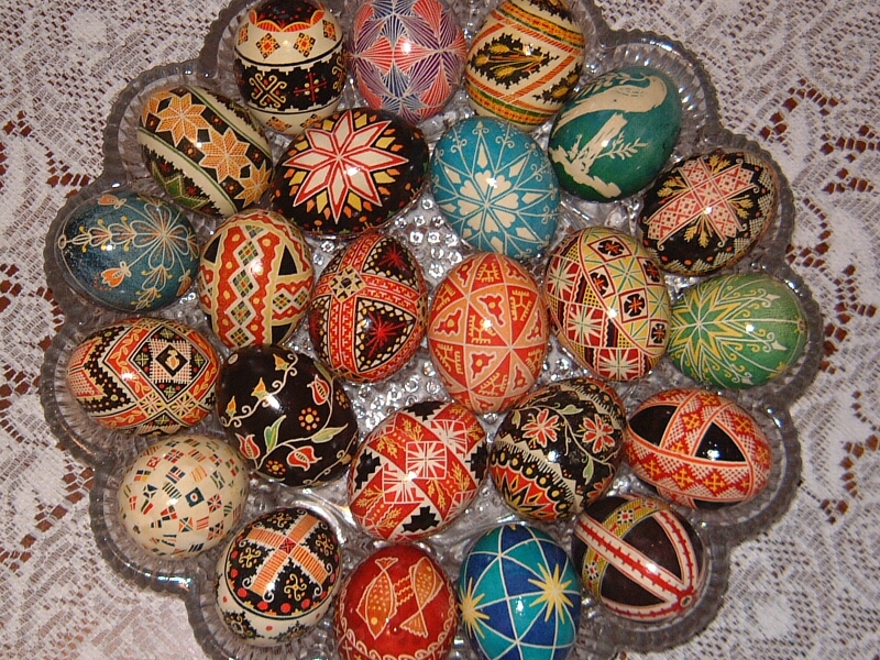 ... made in this way with specific, traditional Ukrainian folk designs